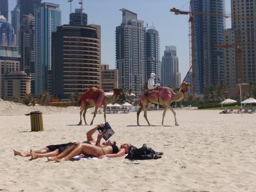 JBR, a melhor praia de Dubai