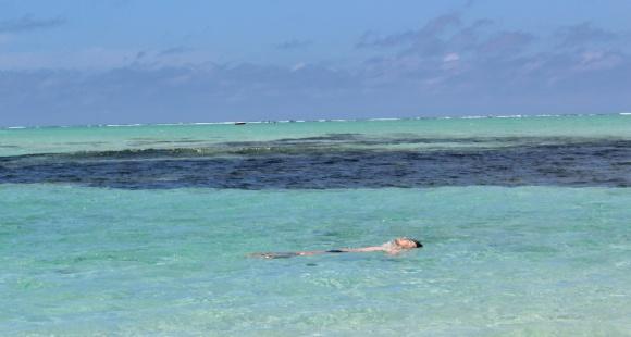 Eu no meio do nada: Mauritius
