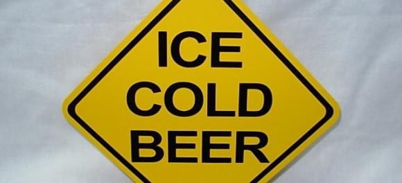 cerveja com gelo